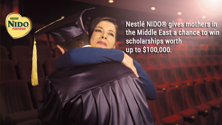 10 winners will take home a Nestlé NIDO® scholarship worth $10,000