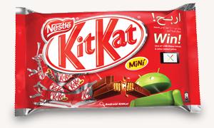 KitKat bermerek Android