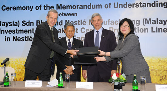 New CHF 35 million investment in Malaysia