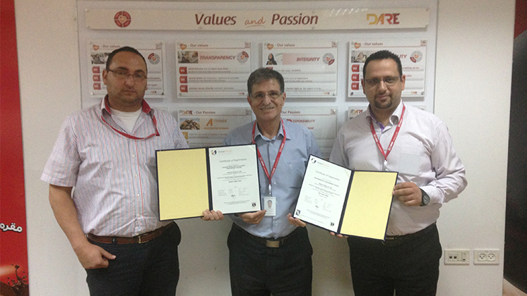 Nestlé in Palestine garners ISO 14001 and OHSAS 18001